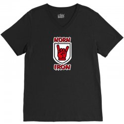 norn iron  northern ireland red hand of ulster   devil horns V-Neck Tee | Artistshot