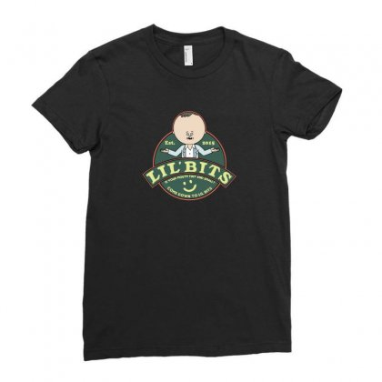 Restaurant Cartoon Ladies Fitted T-shirt Designed By Andr1