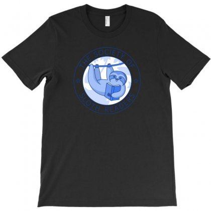 Society Of Sloth Readers T-shirt Designed By Andr1