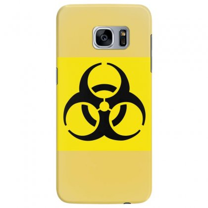 Biohazard Warning Symbol Samsung Galaxy S7 Edge Case Designed By Badprisoner05
