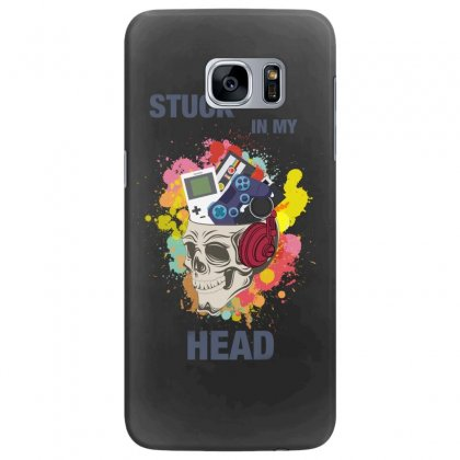 Stuck In My Head Samsung Galaxy S7 Edge Case Designed By Hasret