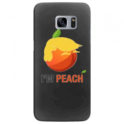 I'm Peach For Dark Samsung Galaxy S7 Edge Case Designed By Hasret