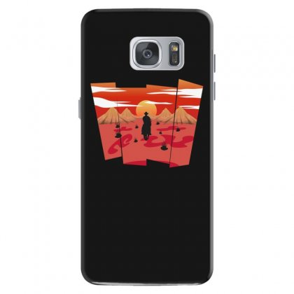 Cowboy In Traveling Samsung Galaxy S7 Case Designed By Hasret