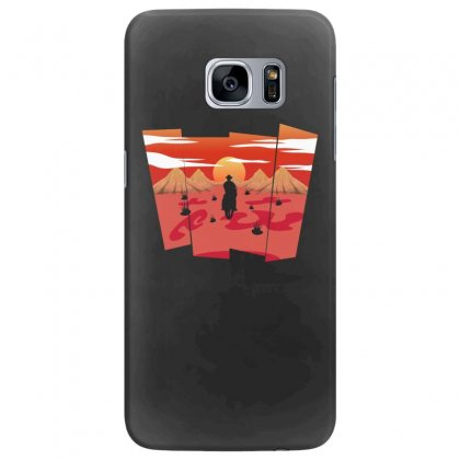 Cowboy In Traveling Samsung Galaxy S7 Edge Case Designed By Hasret