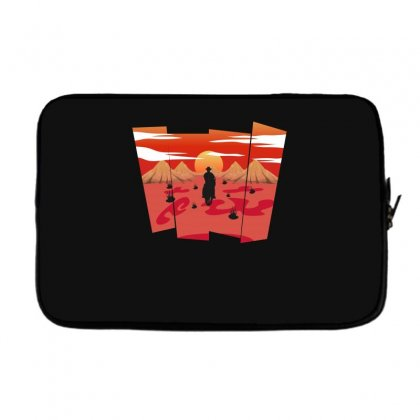 Cowboy In Traveling Laptop Sleeve Designed By Hasret