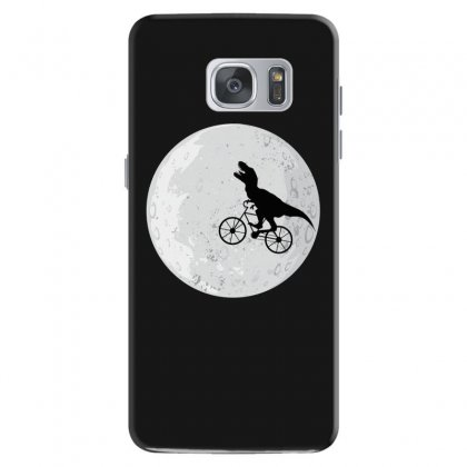 Bicycle Dinosaur Samsung Galaxy S7 Case Designed By Hasret