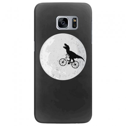 Bicycle Dinosaur Samsung Galaxy S7 Edge Case Designed By Hasret