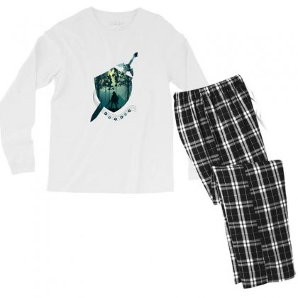 Song Of Time Men's Long Sleeve Pajama Set Designed By Hasret