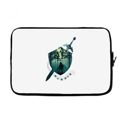 Song Of Time Laptop Sleeve Designed By Hasret