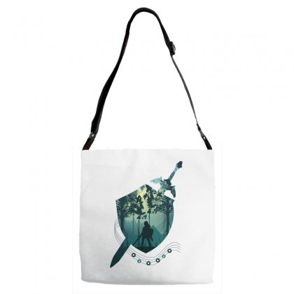 Song Of Time Adjustable Strap Totes Designed By Hasret