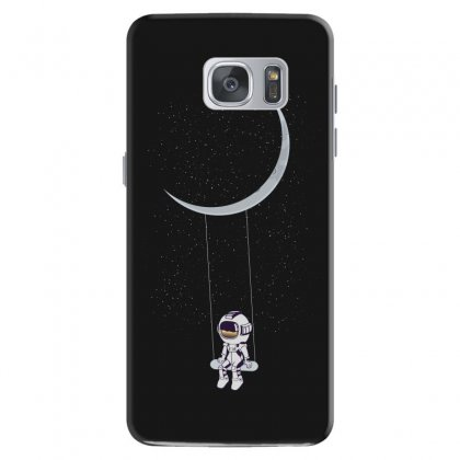 Astronaut In The Galaxy Samsung Galaxy S7 Case Designed By Hasret