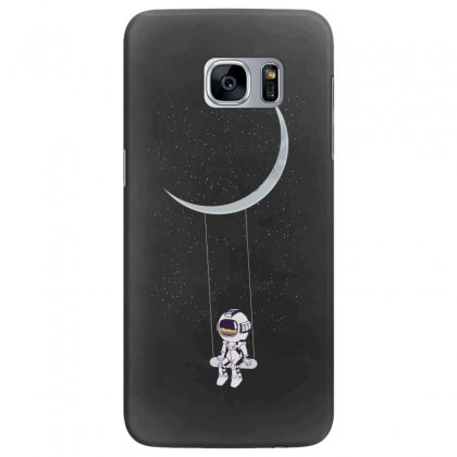 Astronaut In The Galaxy Samsung Galaxy S7 Edge Case Designed By Hasret