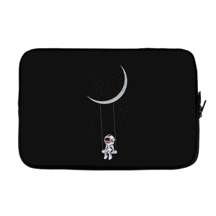 Astronaut In The Galaxy Laptop Sleeve Designed By Hasret