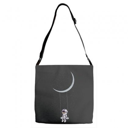 Astronaut In The Galaxy Adjustable Strap Totes Designed By Hasret