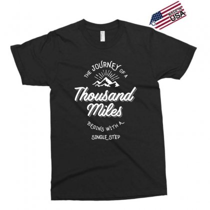 The Journey Of A Thousand Miles Begins With A Single Step Exclusive T-shirt Designed By Cidolopez