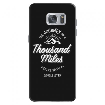 The Journey Of A Thousand Miles Begins With A Single Step Samsung Galaxy S7 Case Designed By Cidolopez