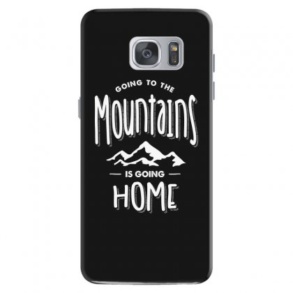 Going To The Mountains Is Going Home - Adventure Gifts Samsung Galaxy S7 Case Designed By Cidolopez