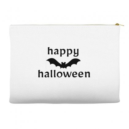 Happy Halloween Accessory Pouches Designed By Youneschel