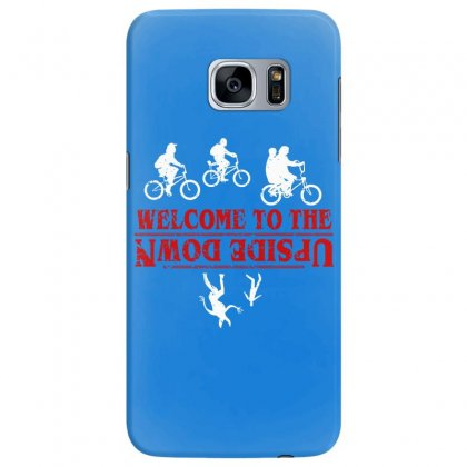 Stranger Things The Up Side Down Samsung Galaxy S7 Edge Case Designed By Fashionartis69