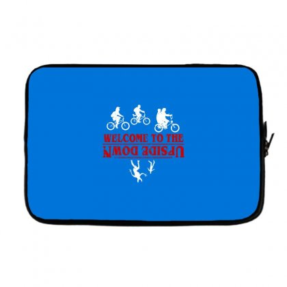 Stranger Things The Up Side Down Laptop Sleeve Designed By Fashionartis69