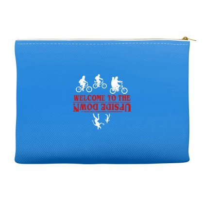 Stranger Things The Up Side Down Accessory Pouches Designed By Fashionartis69