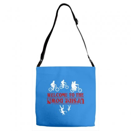Stranger Things The Up Side Down Adjustable Strap Totes Designed By Fashionartis69