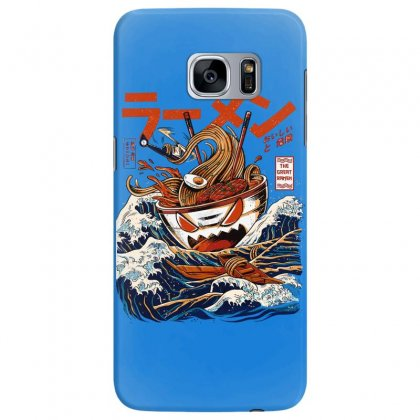 The Great Ramen Off Kanagawa Samsung Galaxy S7 Edge Case Designed By Fashionartis69