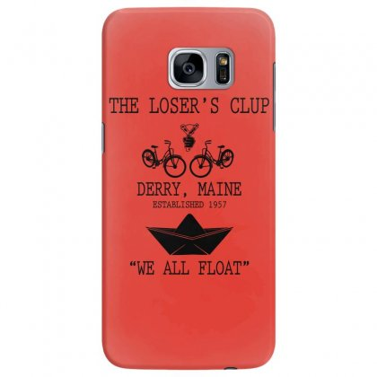 The Losers' Club Emblem   White Text Samsung Galaxy S7 Edge Case Designed By Fashionartis69