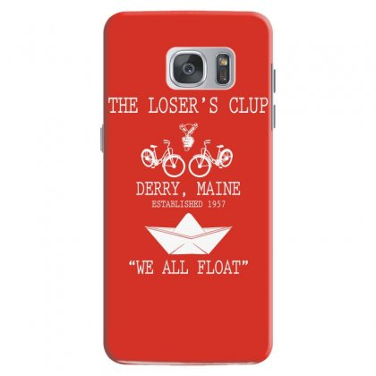 The Losers' Club Emblem   White Text Samsung Galaxy S7 Case Designed By Fashionartis69