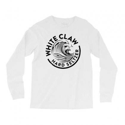 Distressed White Claw Hard Seltzer Long Sleeve Shirts Designed By Planetshirts