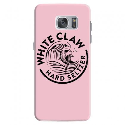 Distressed White Claw Hard Seltzer Samsung Galaxy S7 Case Designed By Planetshirts