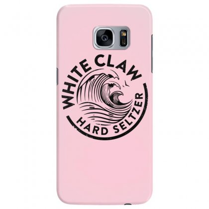 Distressed White Claw Hard Seltzer Samsung Galaxy S7 Edge Case Designed By Planetshirts