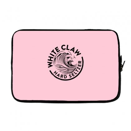 Distressed White Claw Hard Seltzer Laptop Sleeve Designed By Planetshirts