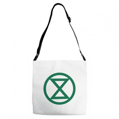 Extinction Rebellion Logo Adjustable Strap Totes Designed By Planetshirts