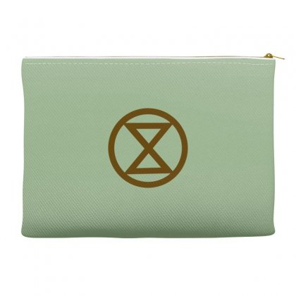 Extinction Rebellion Logo Accessory Pouches Designed By Planetshirts