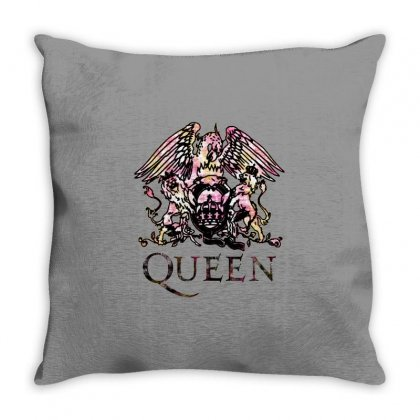 Queen Throw Pillow Designed By Fun Tees