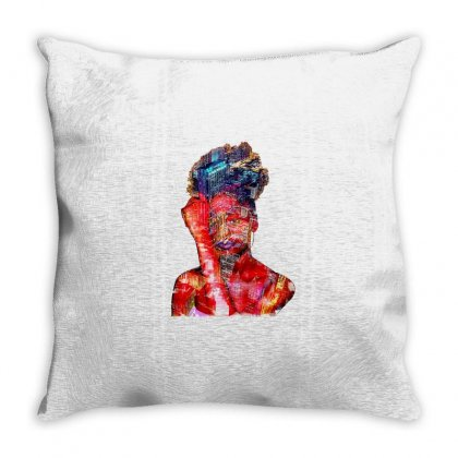 Lady In The City Throw Pillow Designed By Minttastic