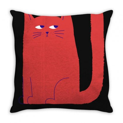I Was Normal Three Cats Ago Throw Pillow Designed By Otak Atik
