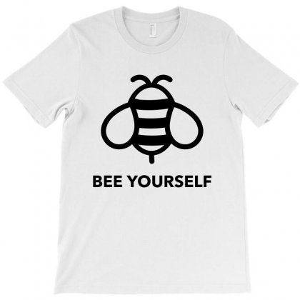Bee Yourself T-shirt Designed By Citron