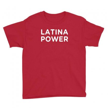 Latina Power Youth Tee Designed By Honeysuckle