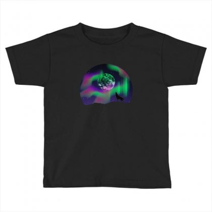 Arctic Tune Toddler T-shirt Designed By Neset
