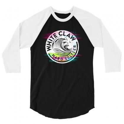 White Claw In The Colour 3/4 Sleeve Shirt Designed By Fun Tees