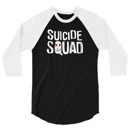 Squad 3/4 Sleeve Shirt Designed By Disgus_thing