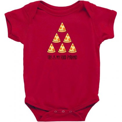This Is My Food Pyramid Baby Bodysuit Designed By Andr1