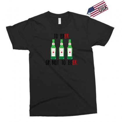 To Beer Ot Not To Beer Exclusive T-shirt Designed By Andr1