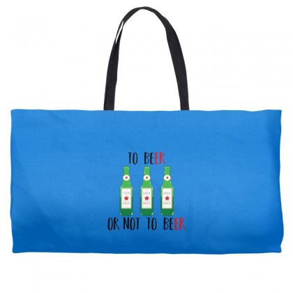 To Beer Ot Not To Beer Weekender Totes Designed By Andr1