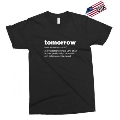 Tomorrow Exclusive T-shirt Designed By Andr1