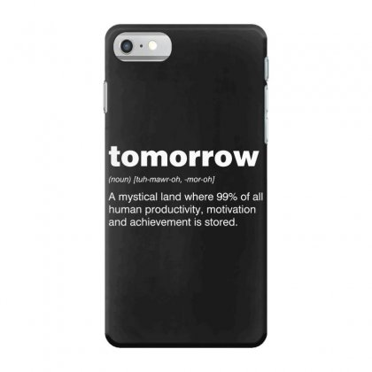 Tomorrow Iphone 7 Case Designed By Andr1