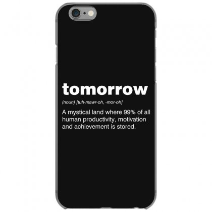 Tomorrow Iphone 6/6s Case Designed By Andr1