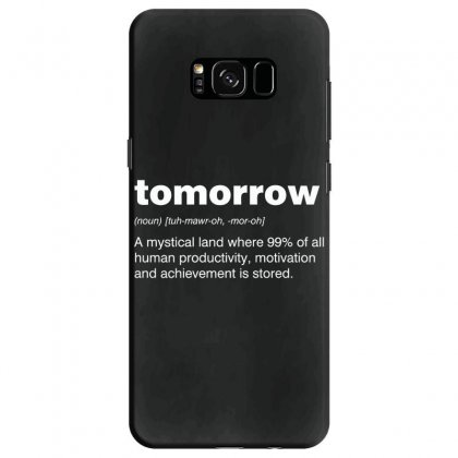 Tomorrow Samsung Galaxy S8 Case Designed By Andr1